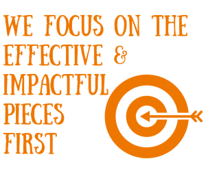 Focus on what is important & impactful (1)