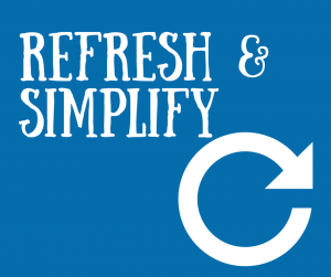 refresh & simplify