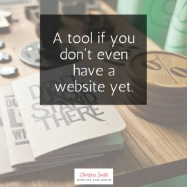 Get people in your tribe without a website
