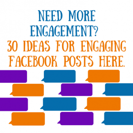 30 Content Posts for Facebook Engagement